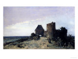 Castle Rosemont's Ruins, c.1861 Prints by Johan-Barthold Jongkind