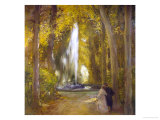 The Fountain of Love Giclee Print by Gaston Latouche