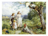 The Entangled Kite Giclee Print by Myles Birket Foster