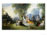 The Picnic Giclee Print by Henry Andrews