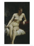Study of a Female Nude, c.1872 Prints by Henri Fantin-Latour