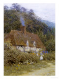 Cottage near Witley, Surrey Giclee Print by Helen Allingham