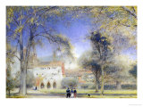 Winchester Close Giclee Print by Albert Goodwin