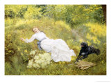 Summer&#39;s Day Giclee Print by Edward Killingworth Johnson