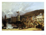 Dartmouth, Devon Giclee Print by Richard Hume