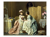Sharing Confidences Giclee Print by Charles Baugniet