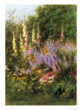 Corner of a Garden Giclee Print by Helen Allingham