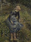 Peasant Girl, c.1881 Giclee Print by Camille Pissarro