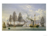 Queen Victoria on the Royal Yacht Giclee Print by William Joy