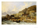 The Marine Parade, Hastings Giclee Print by Richard Hume