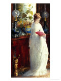 Invitation to the Opera Giclee Print by Hendricus Jacobus Burghers