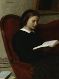 The Reader, c.1861 Print by Henri Fantin-Latour