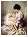 Mummy's Little Darling Giclee Print by Thomas Benjamin Kennington