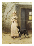 Rival Attraction Giclee Print by George Goodwin Kilburne