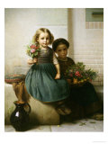 Posies, c.1855 Giclee Print by Friedrich Boser