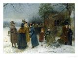 Christmas Morning Lámina giclée por Edward Frederick Brewtnall