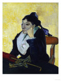 L'Arlesienne, Madame Ginoux, c.1888 Gicle-tryk af Vincent van Gogh