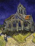 The Church in Auvers-Sur-Oise, c.1890 Giclée-tryk af Vincent van Gogh