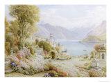 Villa Melzie, Como, Italy Giclee Print by Ebenezer Wake Cook