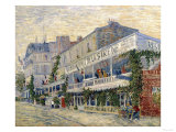 The Restaurant de la Sirene in Asnieres, c.1887 Giclee Print by Vincent van Gogh