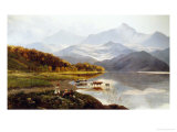 Lakeside Gathering Giclee Print by Henry John Boddington