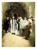 The Wedding Giclee Print by Walter Sadler