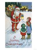 Joyful Christmas Giclee Print