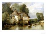 Arundel Mill, Sussex Giclee Print by James Baker Pyne