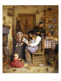 Family Gathering Giclee Print by Joseph Clark