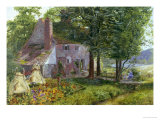 Summer Afternoon Giclee Print by Frank Walton