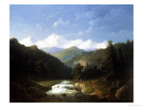 Wooded Mountainous Landscape Giclee Print by Jacobus Nooteboom