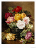 Still Life of Roses Gicl&#233;e-Druck von Eloise Harriet Stannard