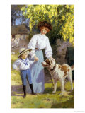 Wary Encounter Reproduction procédé giclée par Percy Tarrant
