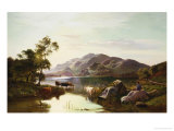 Loch Katrine Giclee Print by Sidney Richard Percy