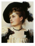 Pretty Portrait Giclee Print by George L. Seymour