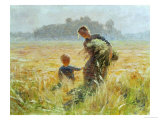 In Flanders Giclee Print by Emile Claus