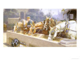 The Watering Trough Giclee Print by John Dollman
