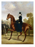 Afternoon Ride in Hyde Park, London Giclee Print by Alfred Frank De Prades