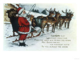 May Santa Bring His Choicest Gifts Giclee Print