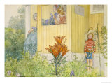 Dressing Up Giclee Print by Carl Larsson