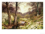 Springtime at Tillingbourne, Surrey Giclee Print by Harold S. Palmer