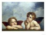 Les Chérubins Reproduction procédé giclée par  Raphael