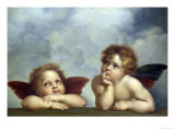 Angels Giclee Print by  Raphael
