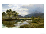 Glen Falloch, Scotland Giclee Print by Sidney Richard Percy