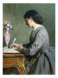 La Lettre Giclee Print by Abraham Solomon