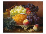 Still Life of Grapes and Pineapples Giclee Print by Eloise Harriet Stannard