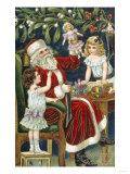 Christmas Toys - Giclee Baskı