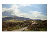 Perthshire Moor Giclee Print by Sidney Richard Percy