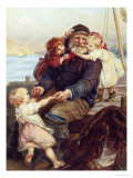 Who Do You Love Giclee Print by Frederick Morgan