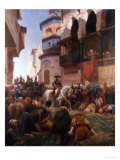 Napoleon's Entry Into Cairo Giclee Print by Gustave Bourgain